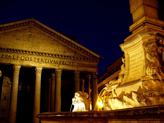 Pantheon Night Shot