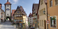 Rothenburg ob der Tauber in Ansbach