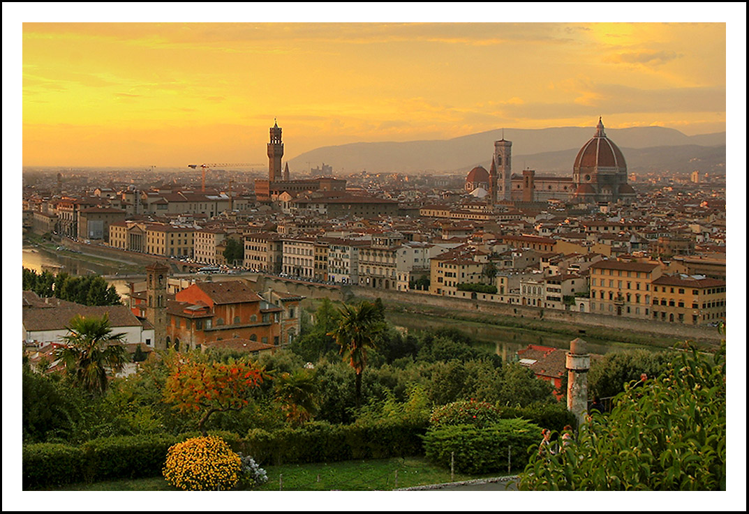 Italian Florence: Florence And Its Cityscape History & Pictures