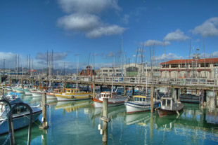 Picture of Boats at Fisherman's Wharf in San Francisco