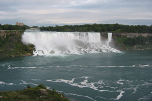 American Falls and Bridal Veil Falls at Niagara Falls