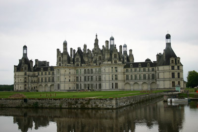 Chateau de Chambord and Its Moat