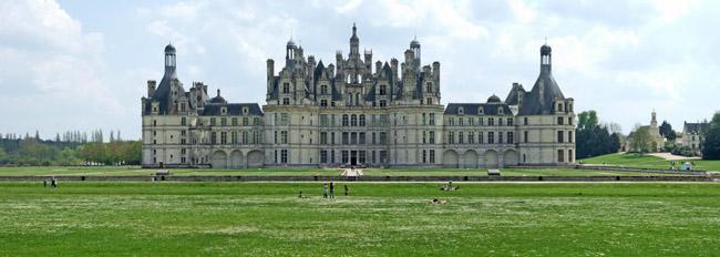 Chateau de Chambord Panorama
