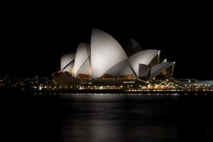 Dark Night at Sydney Opera House
