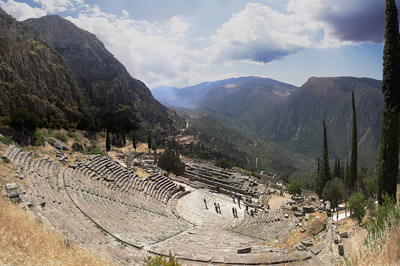Delphi - Ancient Temple in Greece