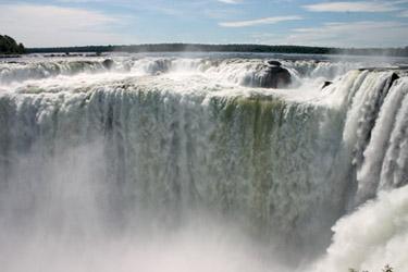 Devil's Throat in Iguazu Falls