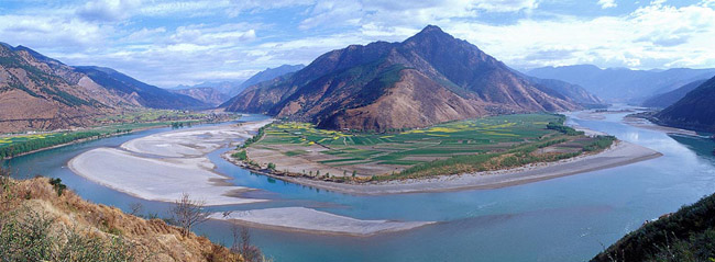 First Turn of Yangtze River