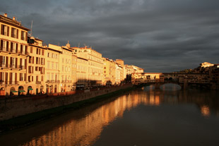 Florence Glows At Sunset