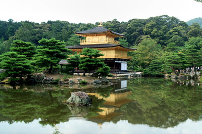 Golden Pavilion in Japan