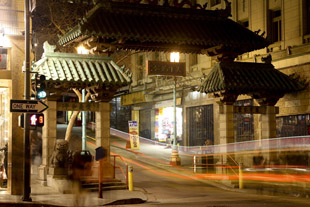 Chinatown Gate at Grant Street in San Francisco