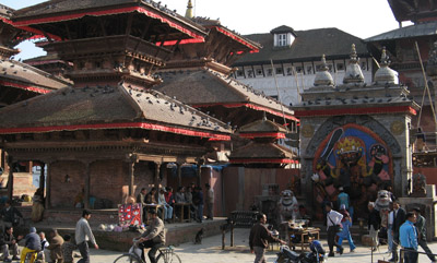 Kathmandu Durbar Square, God of Justice