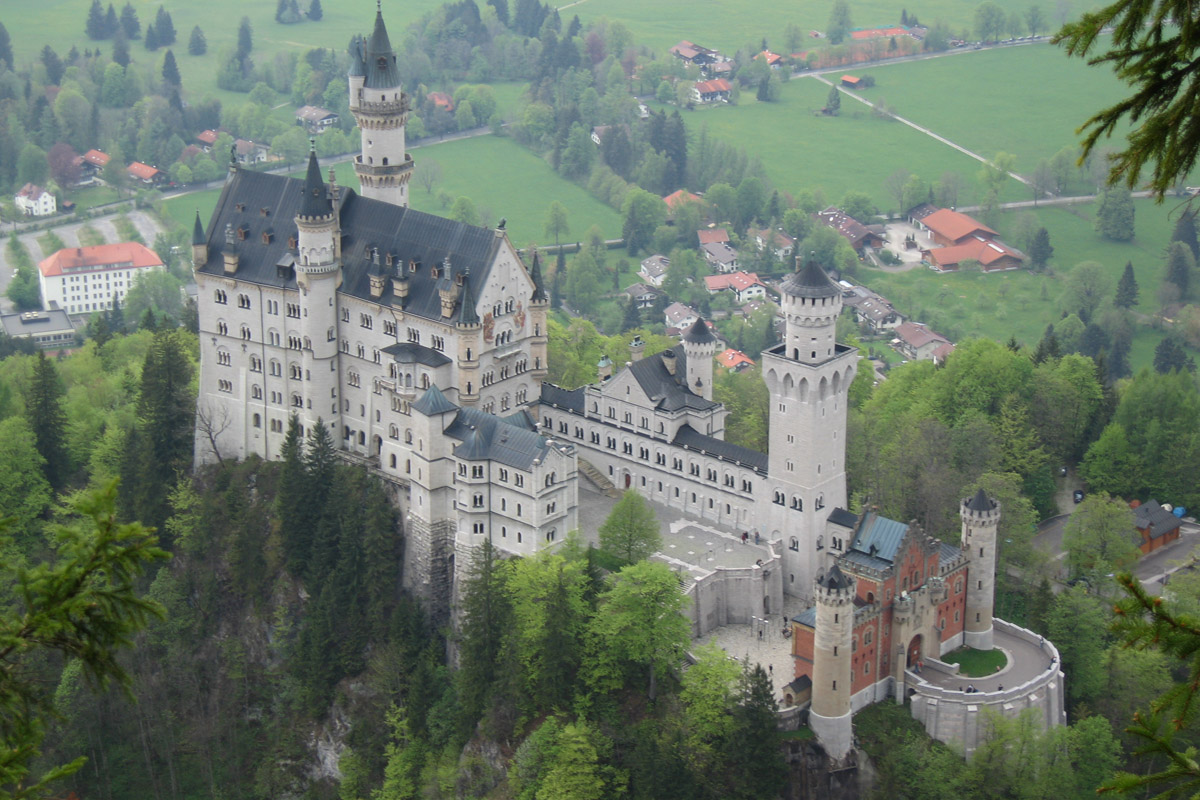 Neuschwanstein Castle King Ludwigs Castle Bavaria
