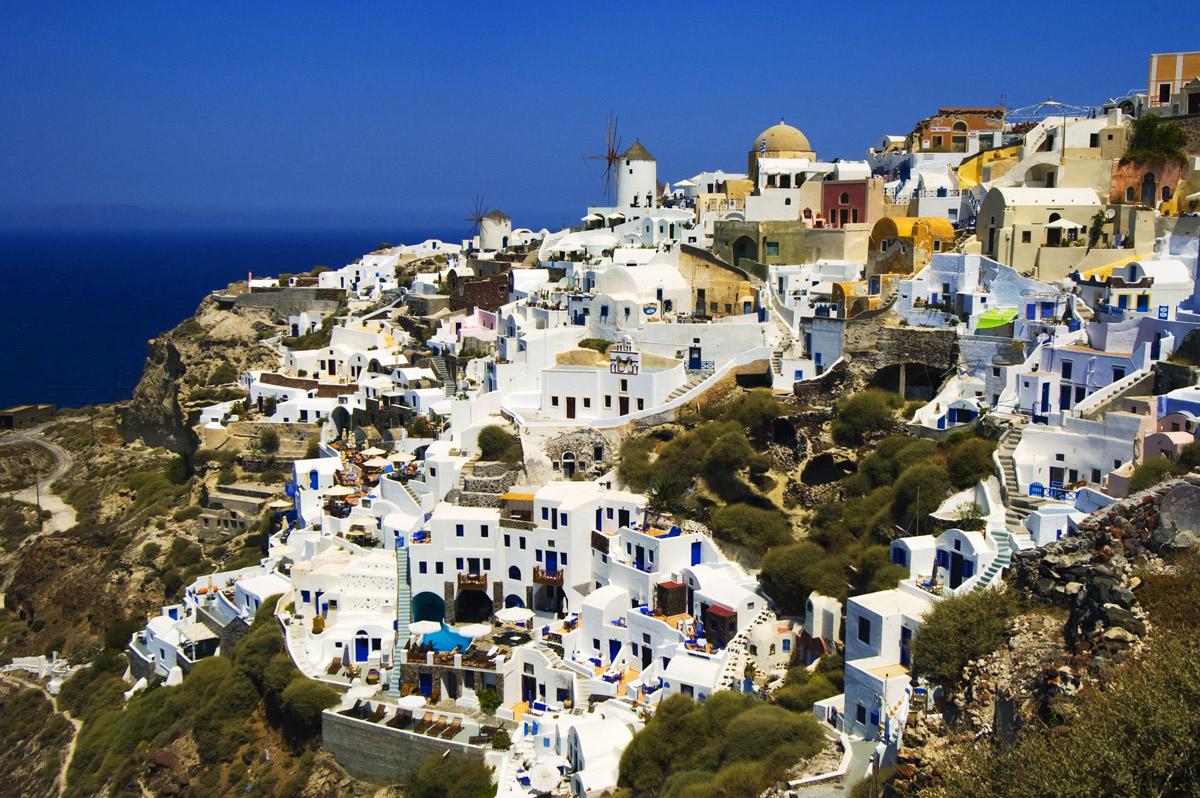 Santorini History, Pictures, Map & Location - Aegean Sea,