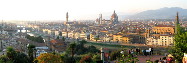 Panorama View of Florence
