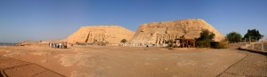 Panorama View of Abu Simbel