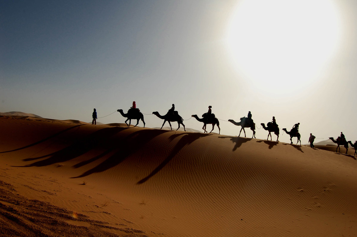 Sahara desert hottest desert in the world