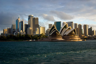 Day Shot of Sydney Opera House