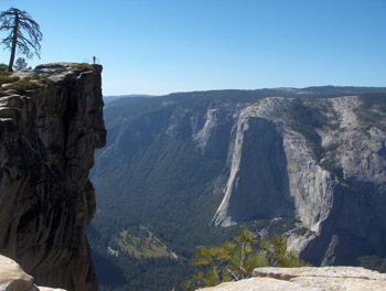 Taft Point at Yosemite National Park