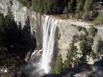 Vernal Fall at Yosemite National Park