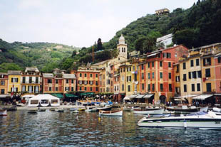 Portofino's Small Harbour