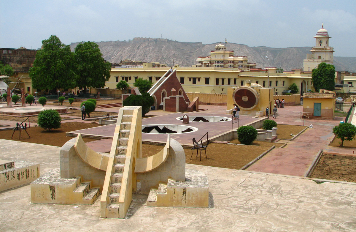 Jantar Mantar Observatory Information Facts Picture Jaipur