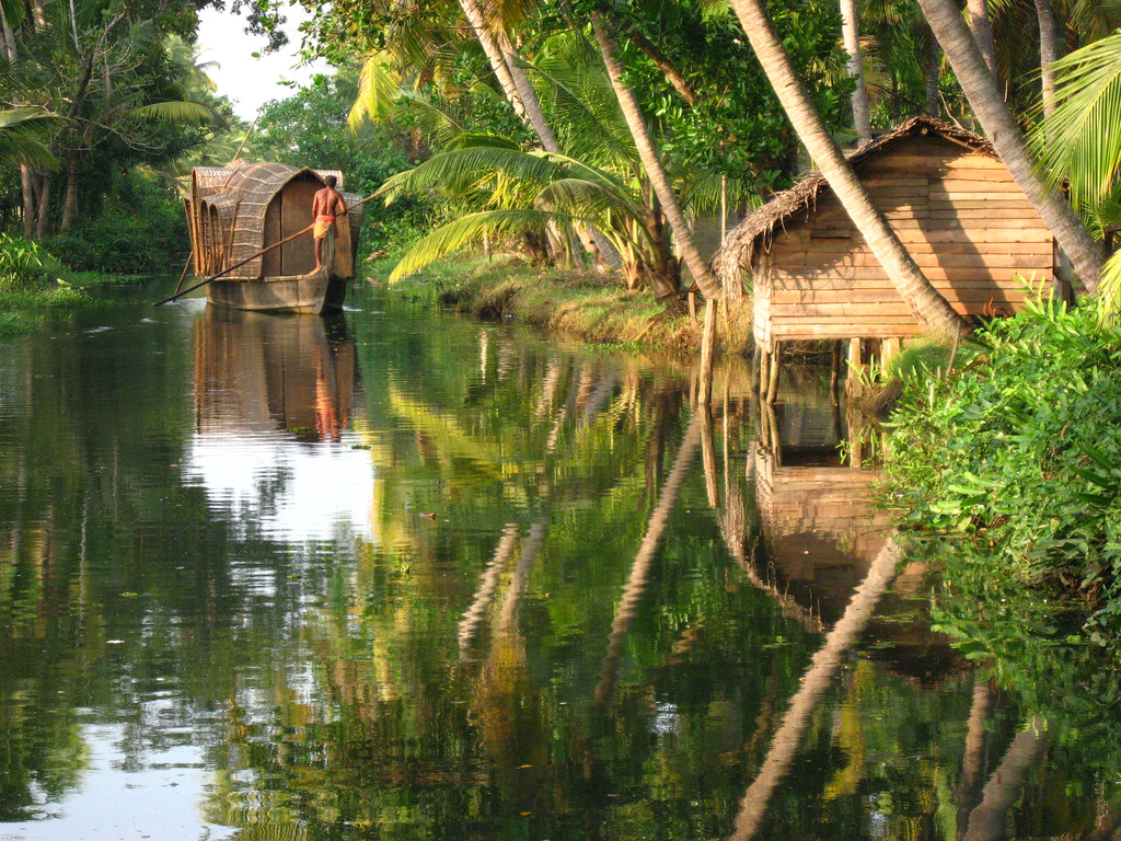 Kerala Backwaters Tourism Information Location
