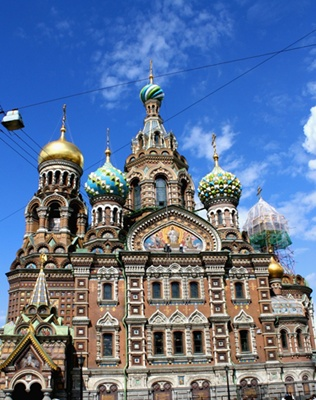 Church of the Savior on Blood 400