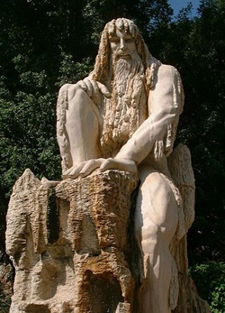 Statue Outside Jeita Grotto 400