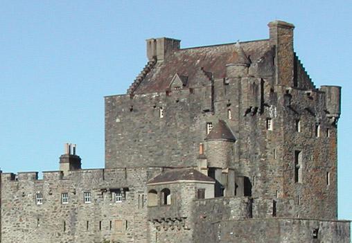 The Eilean Donan Castle main