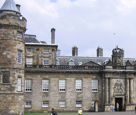 The Holyrood Palace main