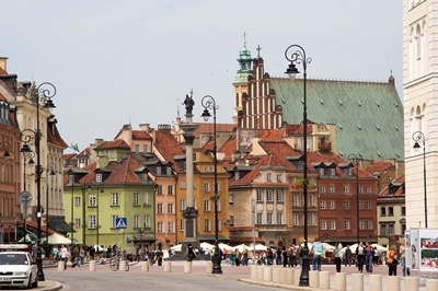 Warsaw Old Town 400