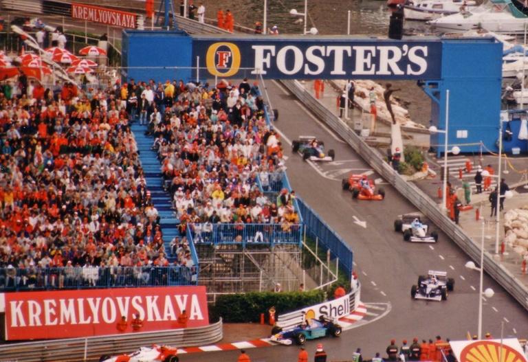 1984 Monaco Grand Prix 1996 Monaco Grand Prix Warm-up