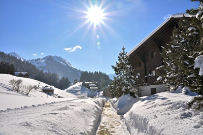 Gstaad on a Sunny day 400