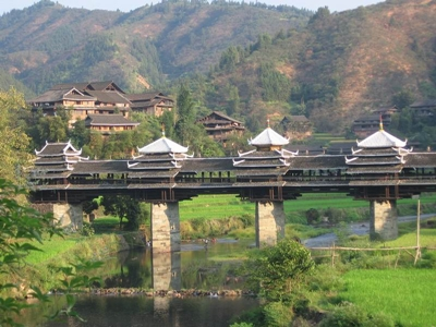 Guangxi-Wind and Rain Bridge 400