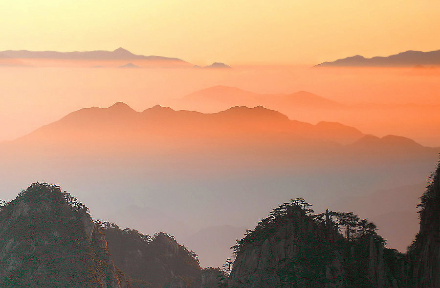 Huangshan Mountain Range Hiking Information & Facts