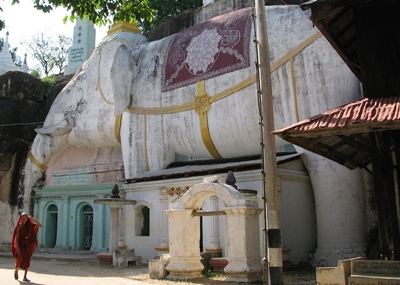 Monywa Elephant building 400