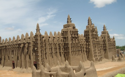 Mosque in Djenne 400