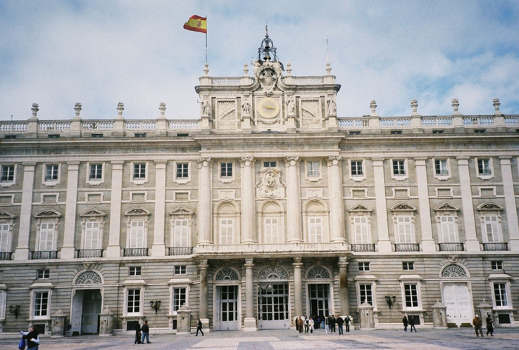 royal palace of madrid tourist information facts location