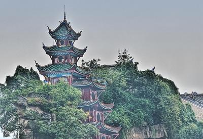 Shibaozhai Temple 400