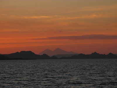 Sunset at Komodo 400