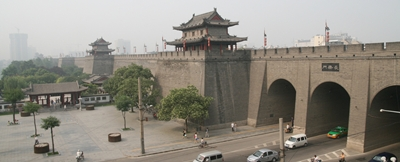 Xi'an City Walls 400