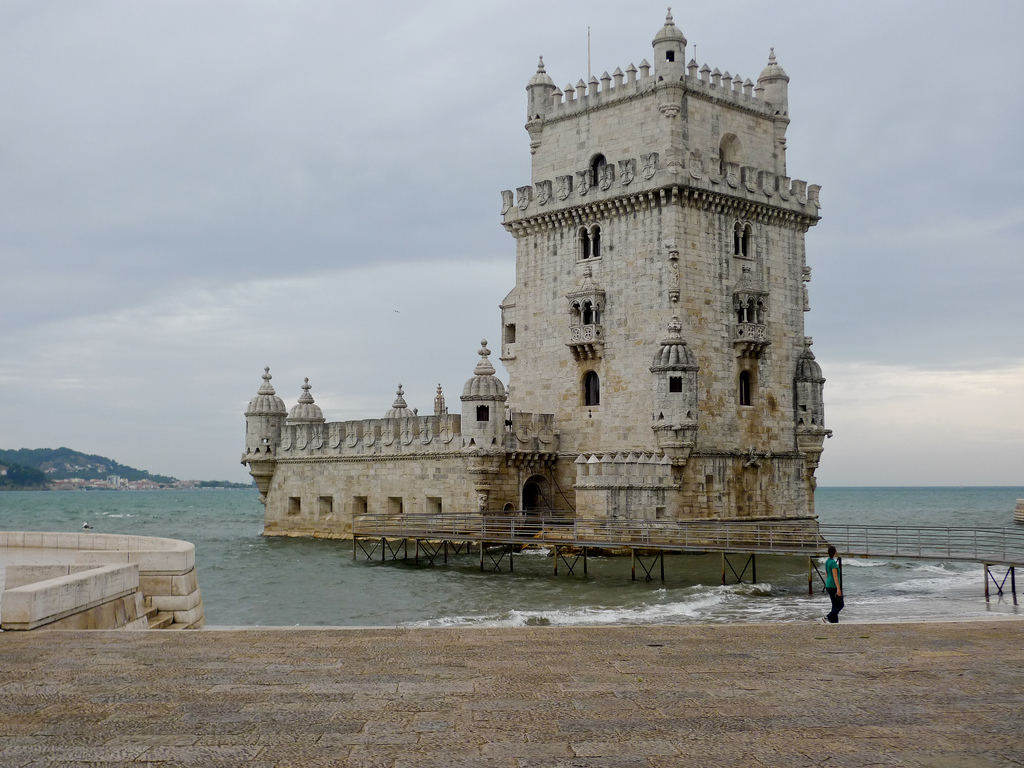 Image result for Belem Tower in Lisbon, Portugal