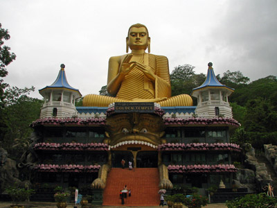 Dambulla Golden Temple 400