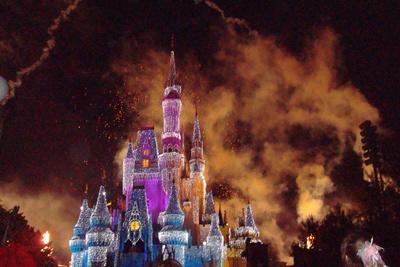 Disneyworld castle 400