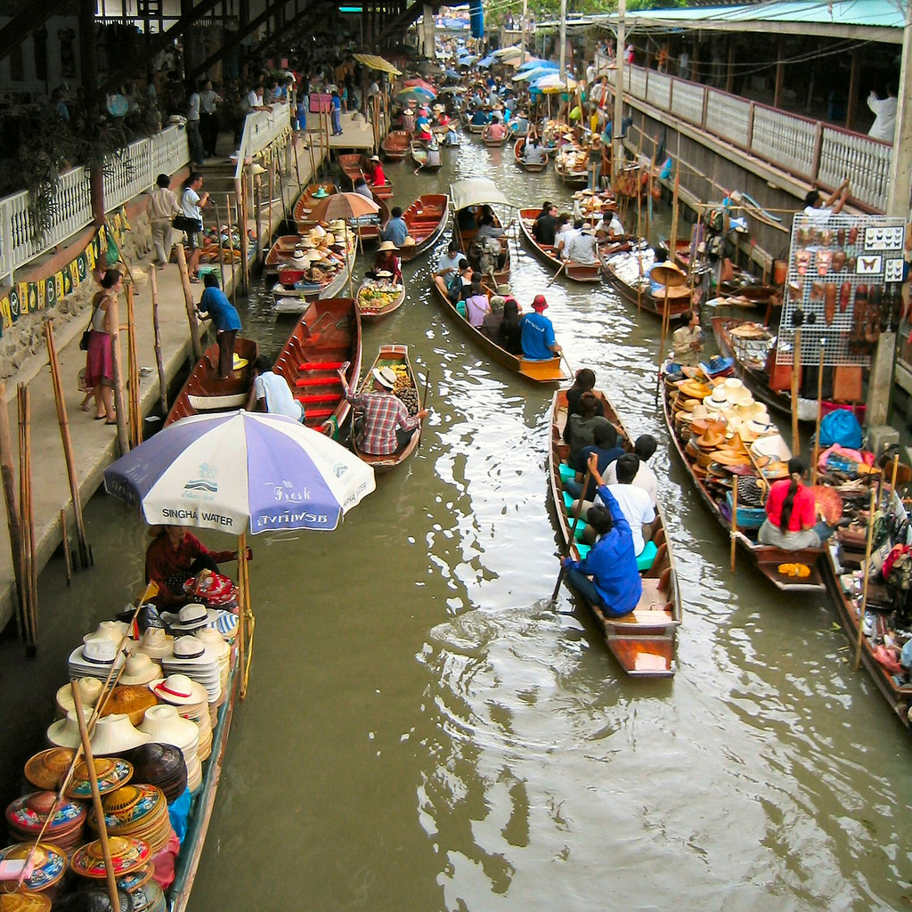 Floating Market Travel Attractions Facts Amp History