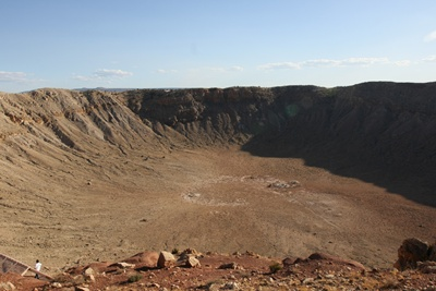 Meteor crater 400