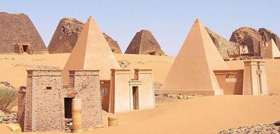Pyramids of Meroe 400