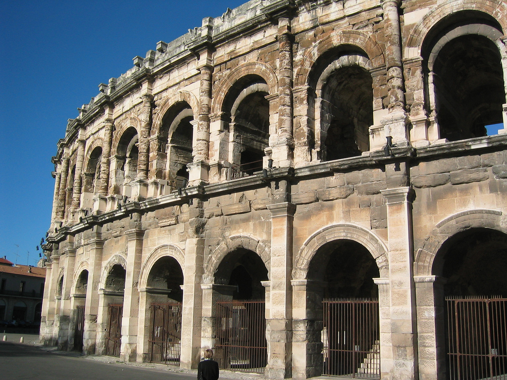 Nimes Amphitheatre Travel Attractions Facts History