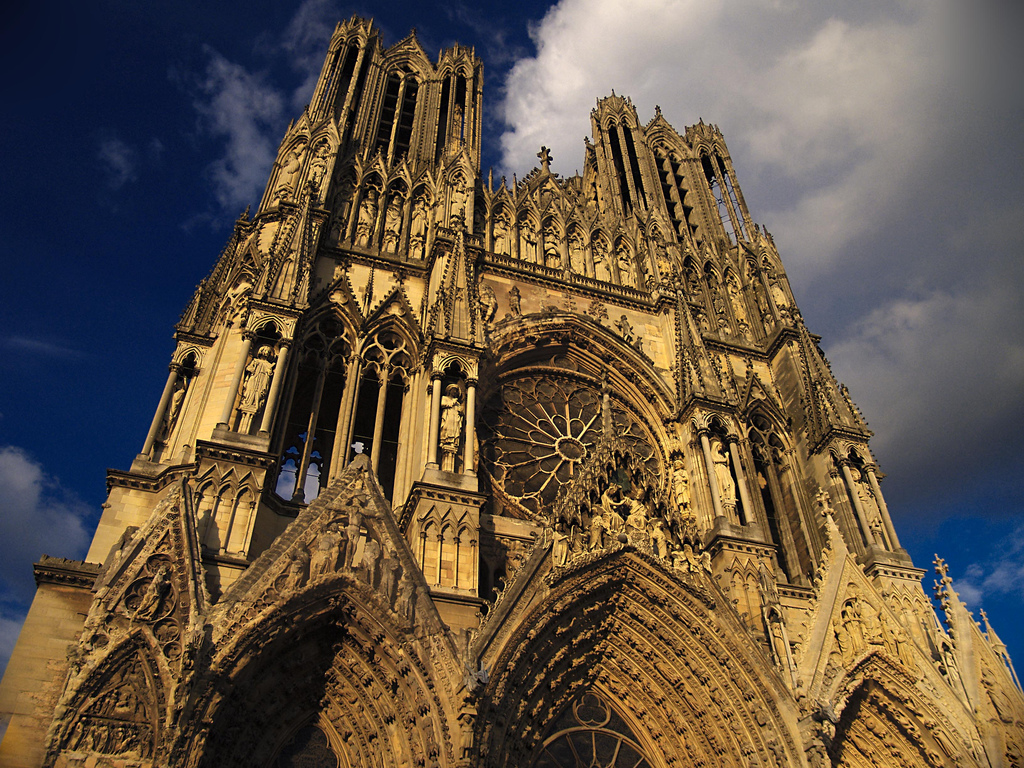 Reims Cathedral, France Design Inspirations