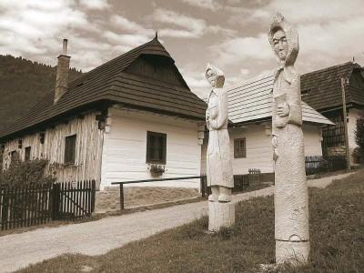 Vlkolinec-slovakia